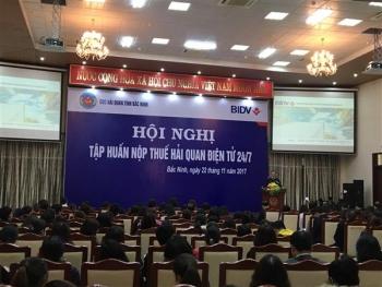 Hải quan Bắc Ninh và ngân hàng BIDV hướng dẫn DN nộp thuế điện tử 24/7