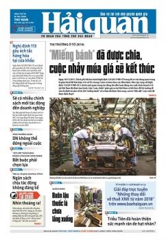 Những tin, bài hấp dẫn trên Báo Hải quan số 143 phát hành ngày 30/11/2017