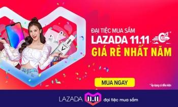 Hơn 20 triệu người tham gia mua sắm trên Lazada trong sự kiện ngày 11/11