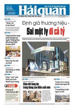 Những tin, bài hấp dẫn trên Báo Hải quan số 146 phát hành ngày 7/12/2017