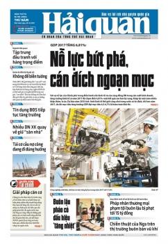 Những tin, bài hấp dẫn trên Báo Hải quan số 155 phát hành ngày 28/12/2017