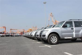 2.833 ô tô nguyên chiếc nhập khẩu tuần qua
