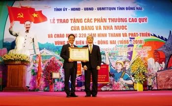 Ông Trần Bá Dương và THACO nhận Huân chương Lao động hạng Nhất