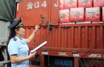 Hải quan Lào Cai cán đích thu ngân sách phút 89