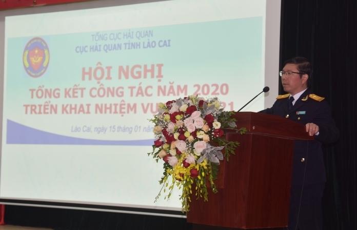 Hải quan Lào Cai cần nỗ lực hoàn thành chỉ tiêu thu ngân sách 1.735 tỷ đồng