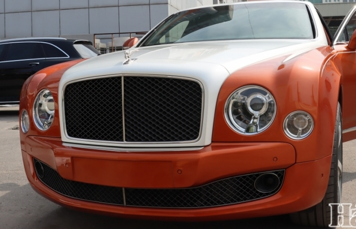 Siêu xe Bentley Mulsanne Speed ở Hà Nội