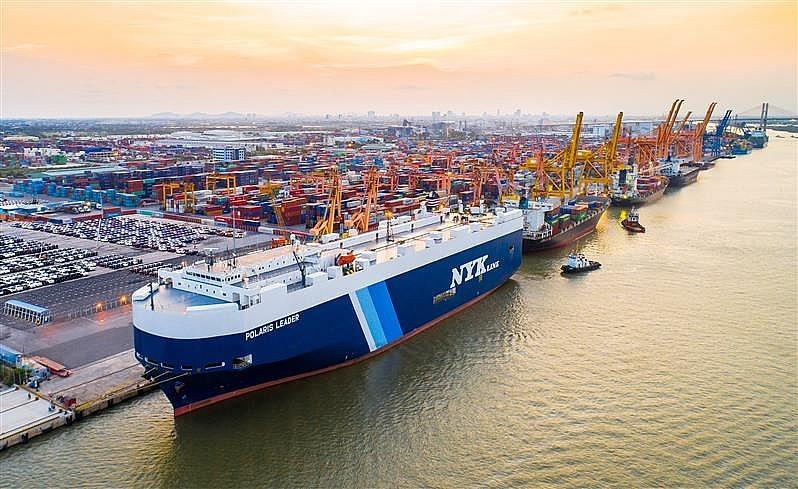 Cảng Hải Phòng đặt mục tiêu 37,5 triệu tấn hàng trong năm 2021