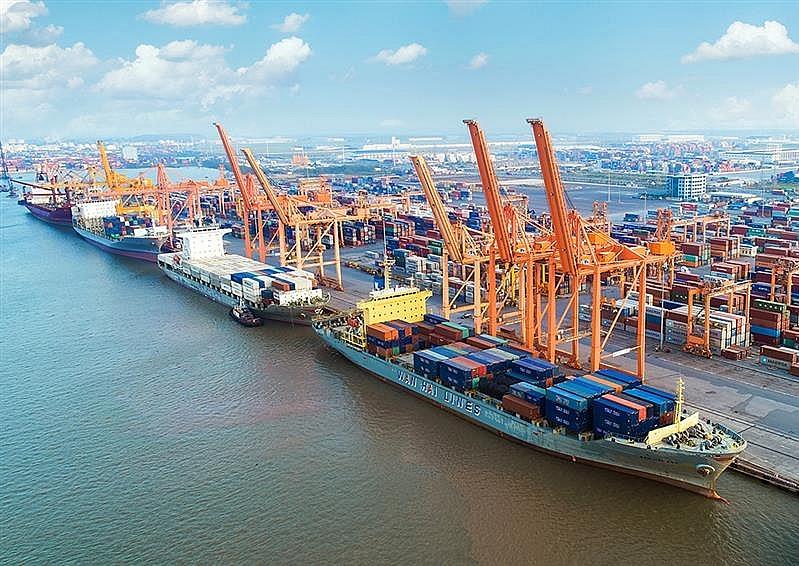 Cảng Hải Phòng xếp dỡ thành công đối với 91 tàu container