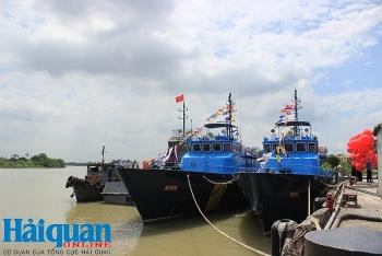 Hải quan hoàn thành trang bị 6 tàu cao tốc