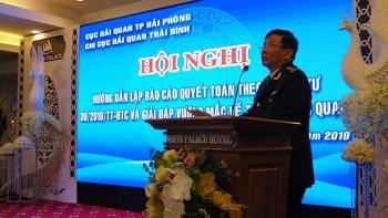 Chi cục Hải quan Thái Bình hướng dẫn doanh nghiệp về báo cáo quyết toán