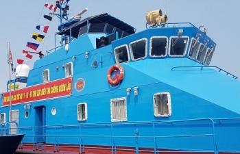 Trang bị tàu tuần tra hiện đại cho lực lượng chống buôn lậu hải quan
