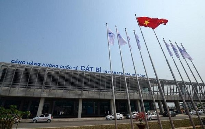 Sân bay Cát Bi, Hải Phòng. Ảnh Internet