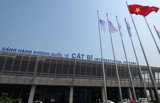 Công nhận địa điểm tập kết hàng hóa trong khu vực sân bay quốc tế Cát Bi