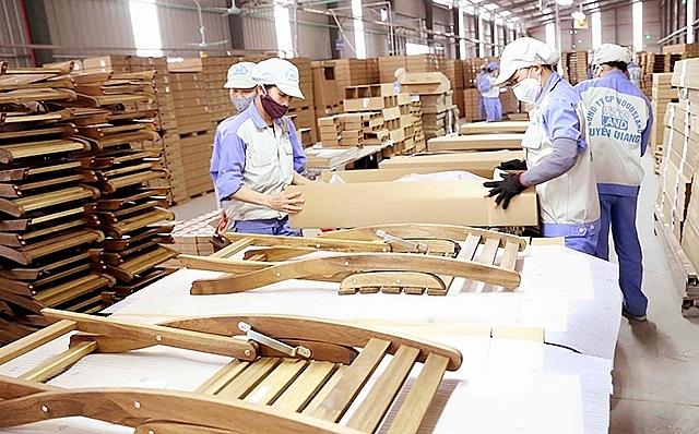 Xuất khẩu gỗ và sản phẩm tăng gần 60%