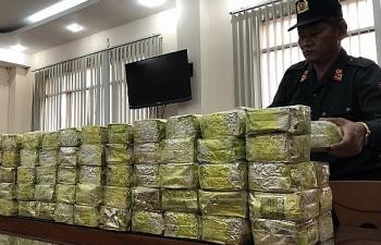 Hải quan tham gia bắt giữ gần 1 tấn heroin, ma túy tổng hợp