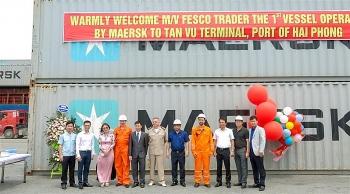 Cảng Hải Phòng liên tiếp đón hãng tàu mới về làm hàng
