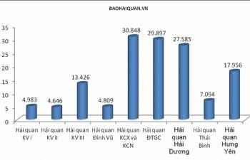 Hải quan Hải Phòng xử lý hơn 140 nghìn tờ khai trong tháng 3