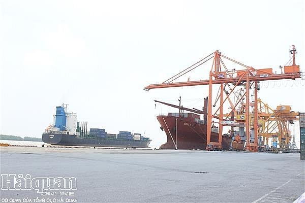 cang container quoc te hai phong don chuyen tau dau tien xuyen thai binh duong