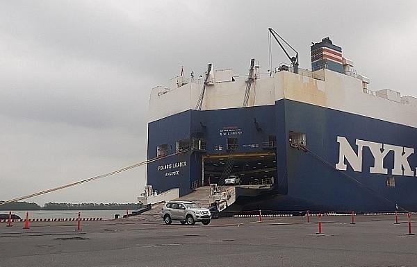 Thuyền trưởng tử vong trên tàu chở gần 2.000 ô tô từ Thái Lan đến Hải Phòng