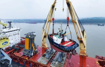 Việt Nam xuất khẩu tàu biển sang Mexico