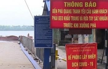 Hôm nay, Hải Phòng nối lại các bến phà, đò với Hải Dương, Thái Bình