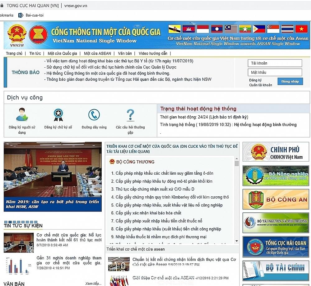126.000 hồ sơ thực hiện Cơ chế một cửa quốc gia trong quý 1