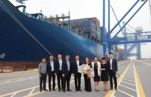 Cảng container quốc tế Hải Phòng mở thêm tuyến dịch vụ mới đi Mỹ