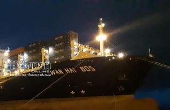 Cảng container quốc tế Hải Phòng tiếp tục đón tàu trọng tải lớn hơn 100.000 tấn