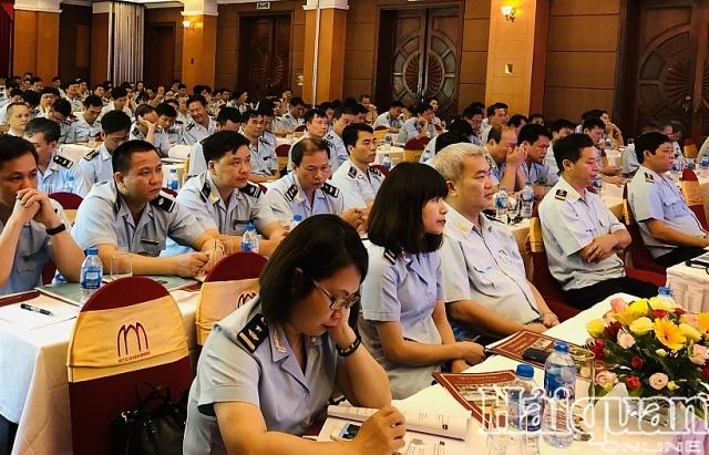 200 cong chuc tham gia tap huan nghiep vu kiem soat hai quan