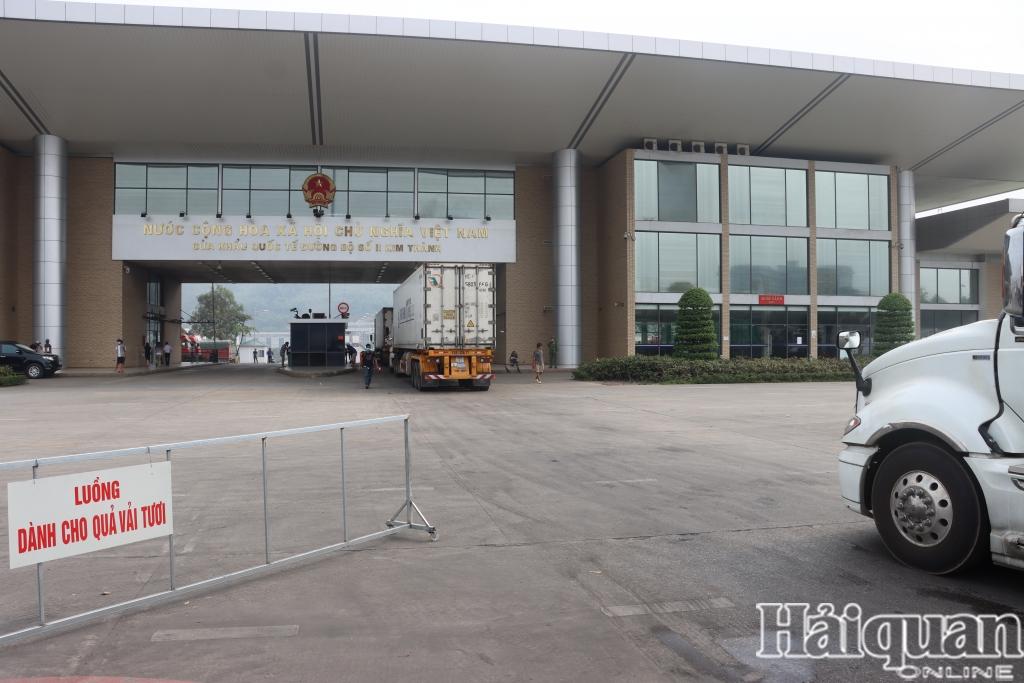 Lào Cai: Giảm phí sử dụng hạ tầng cửa khẩu do ảnh hưởng của Covid-19