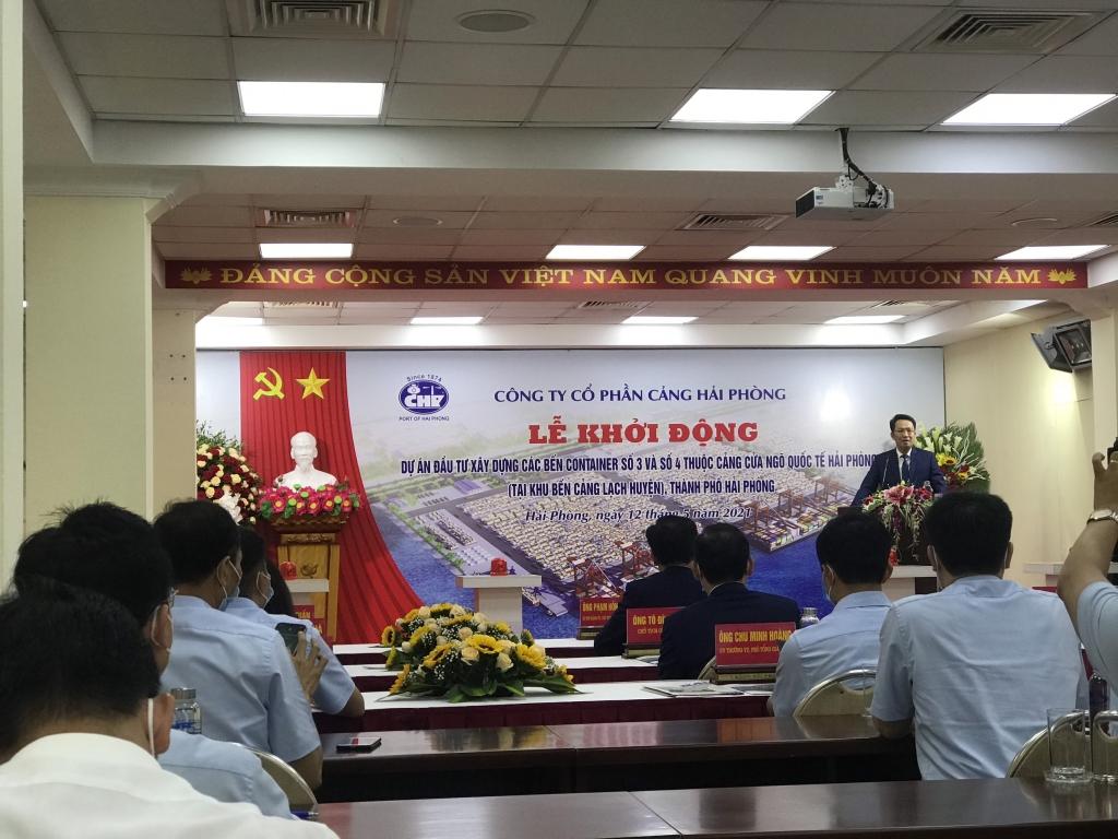 Cảng Hải Phòng khởi động bến cảng số 3 số 4 tại Lạch Huyện