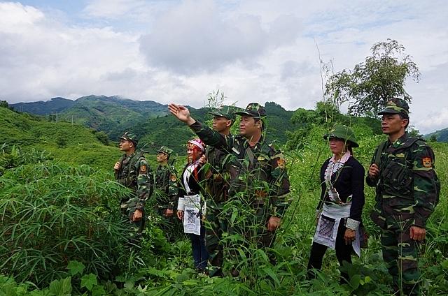 Lào Cai tăng cường kiểm soát biên giới để phòng chống Covid-19