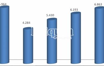 Hải quan Hải Phòng thu ngân sách tiếp tục khởi sắc đạt gần 6.900 tỷ đồng