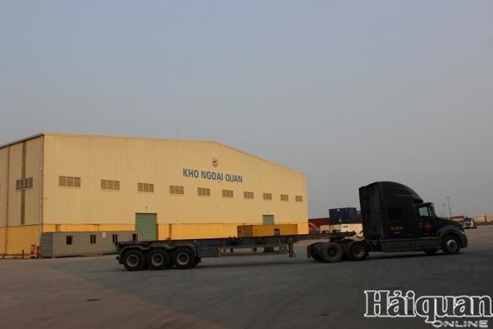 Công nhận kho ngoại quan của Công ty Pan Hải An, Hải Phòng