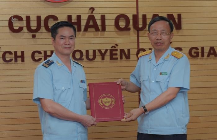 Tổng cục Hải quan bổ nhiệm Cục trưởng Cục Tài vụ- Quản trị