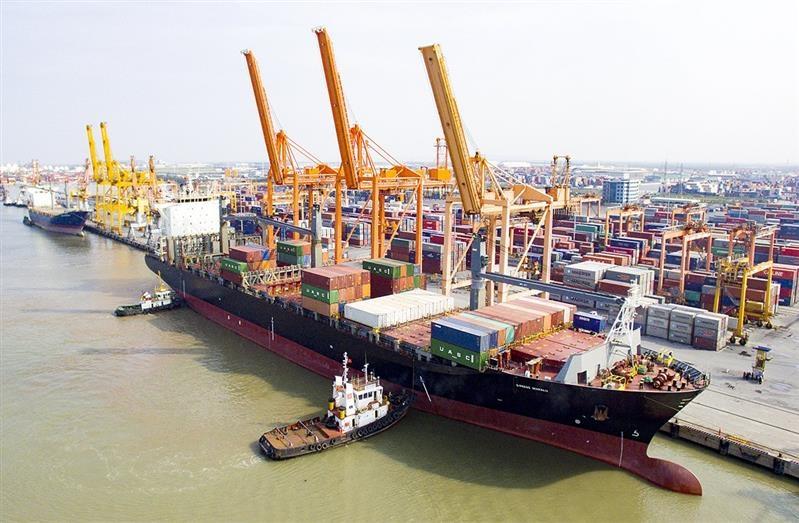 Cảng Hải Phòng đạt sản lượng khai thác gần 2,6 triệu tấn trong tháng 5