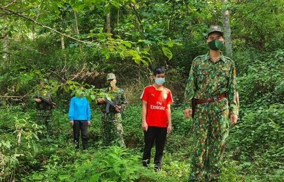 Liêp tiếp bắt giữ người nhập cảnh trái phép tại biên giới Lào Cai