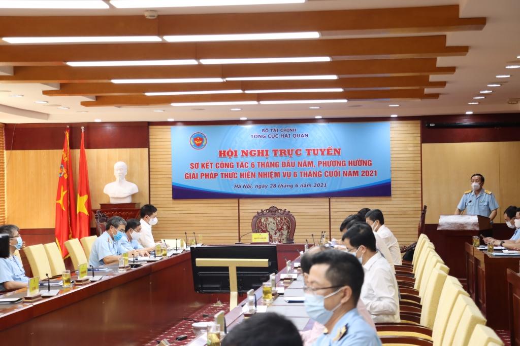 Bộ trưởng Hồ Đức Phớc chỉ đạo Hội nghị triển khai công tác 6 tháng cuối năm của Tổng cục Hải quan