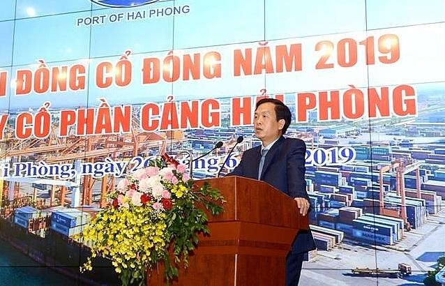 Ông Phạm Hồng Minh làm Chủ tịch HĐQT cảng Hải Phòng