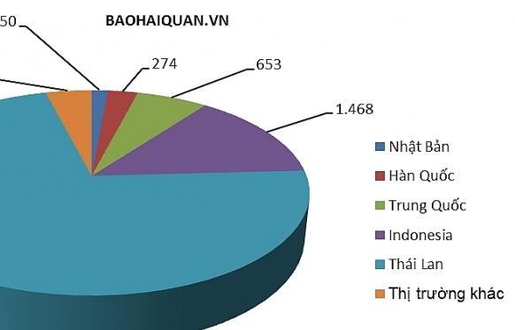 Gần 100% ô tô con nhập khẩu về cảng Hải Phòng và TPHCM trong tháng 6