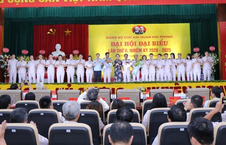 Hải quan Hải Phòng tổ chức thành công Đại hội Đảng bộ lần thứ II