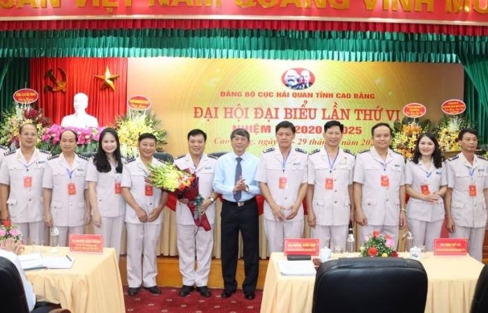 Đảng bộ Cục Hải quan Cao Bằng: Xây dựng đơn vị liêm chính, hiện đại, phát triển