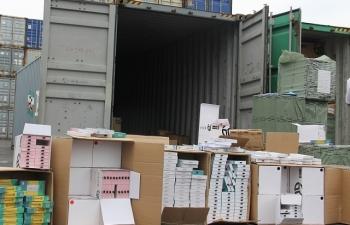 Điều tra 2 vụ giả mạo xuất xứ hàng nhập khẩu tại Hải Phòng