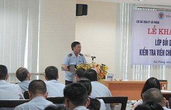 Hải quan Hải Phòng: Hơn 100 CBCC tham gia đào tạo kiểm tra viên chính