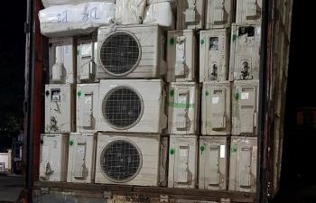 Quảng Bình: Bắt hàng trăm điều hòa nhiệt độ cũ