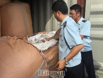 Phế liệu nhựa nhập khẩu tại Hải quan Hải Phòng tăng hơn 3 lần