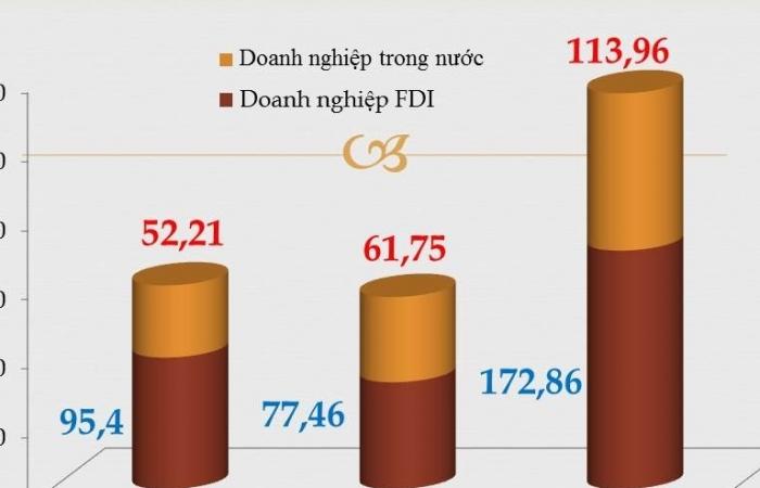 173 tỷ USD kim ngạch xuất nhập khẩu trong tay doanh nghiệp FDI