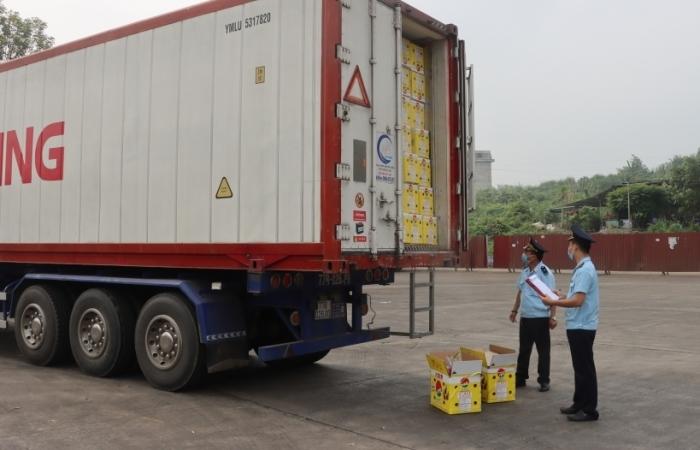 Xuất khẩu nông sản qua Hải quan cửa khẩu quốc tế Lào Cai có chiều hướng giảm