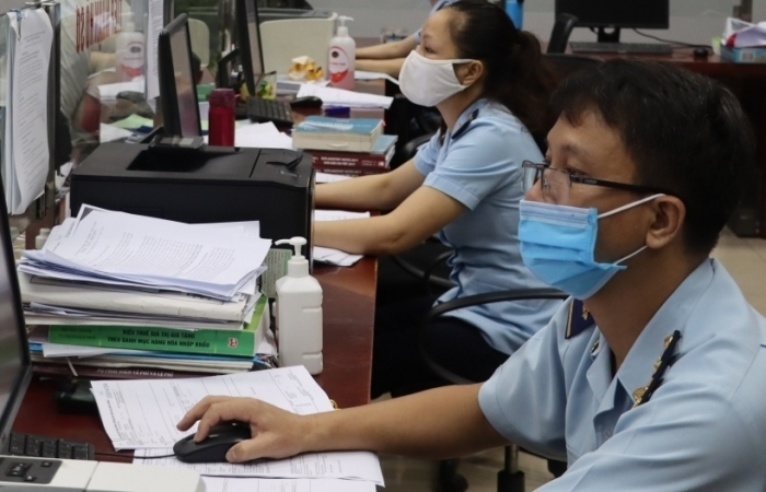 Hải quan cửa khẩu quốc tế Lào Cai tích cực tham gia xây dựng mô hình Hải quan thông minh