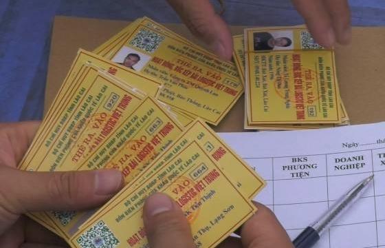 Lào Cai: Cấp miễn phí thẻ QR cho lao động làm việc tại cửa khẩu Kim Thành